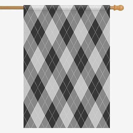 Amazon Com Interestprint House Flag Decorative Abstract Argyle