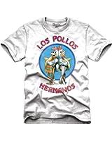 Breaking Bad Los Pollos Hermanos Logo Adult T-Shirt
