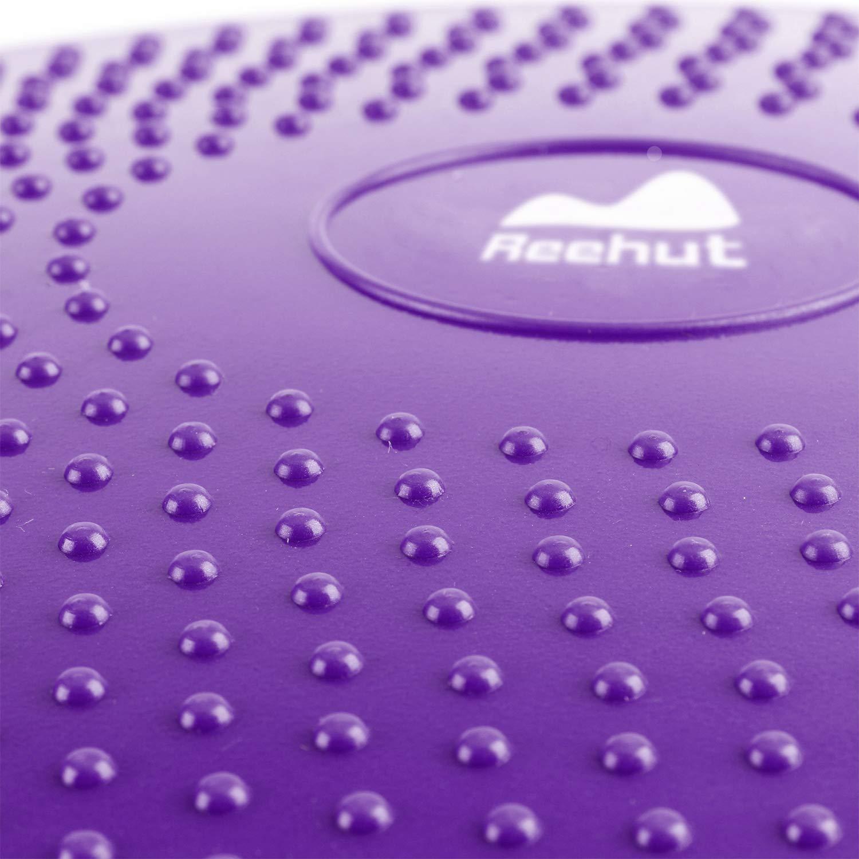 REEHUT Cojín de Equilibrio, Disco de Equilibrio para Fitness, Yoga, Pilates, Entrenamiento y Ejercicio Físico, Disco de Inestabilidad Hinchable con ...