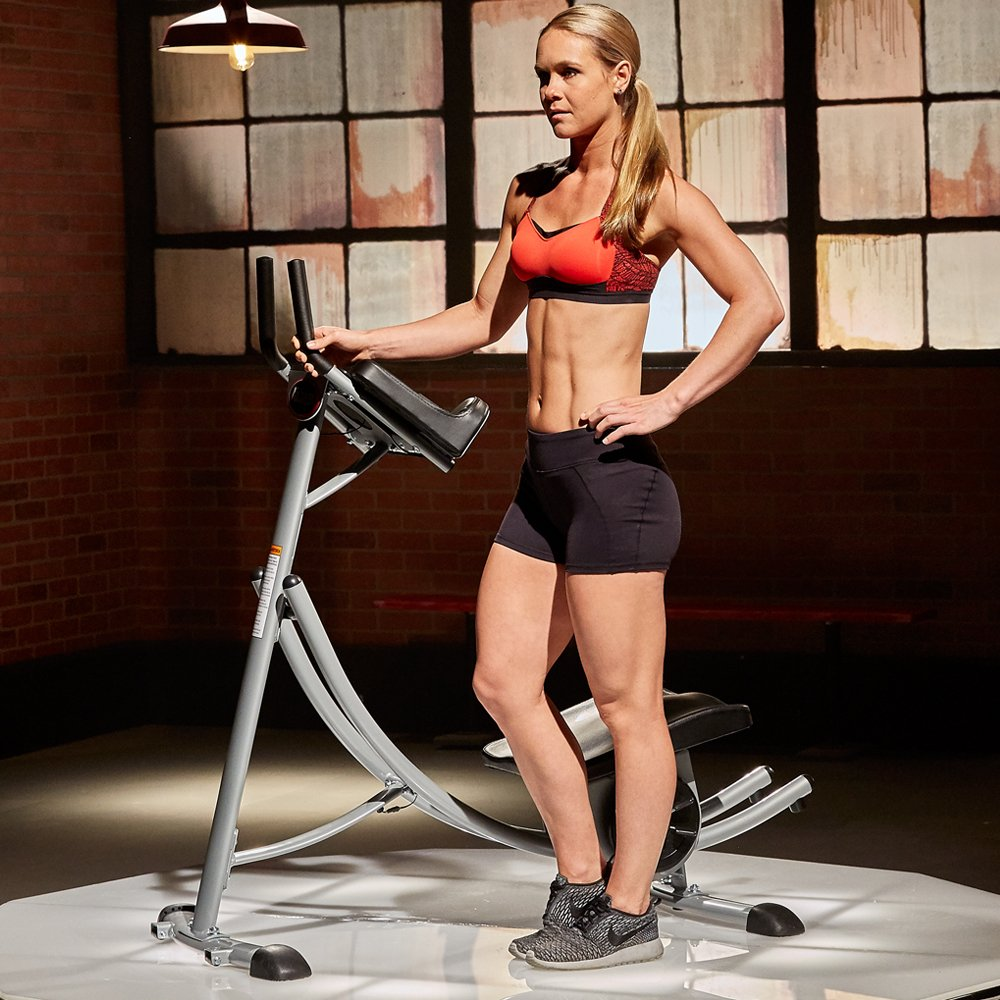 Abcoaster Max Deluxe with Weights- The Back & Neck Safe, Abdominal Fitness Machine by Ab Coaster (Image #2)