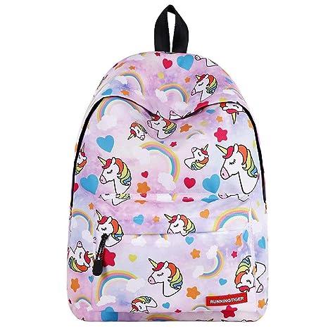 grande vendita a049c 6d6c3 Zaino unicorno per ragazze,Zaino per bambini Zaino per bambini Zaino per  adulti Zaini per adulti Bambino Ragazzi Outdoor Daypack