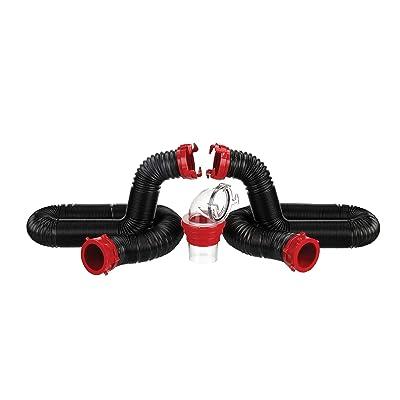 Valterra 20-Foot Dominator RV Sewer Hose Kit
