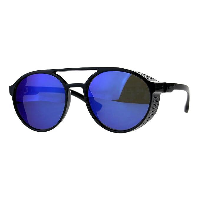 Amazon.com: Para hombre lentes de espejo lateral Visera ...