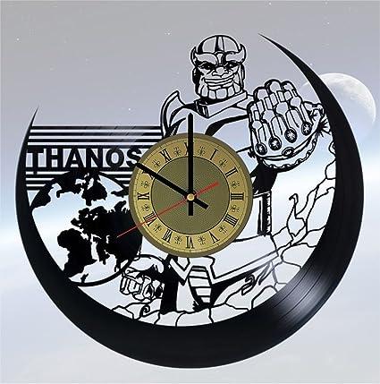 Amazon com: Thanos Vinyl Clock | Marvel Villains | Best Gift