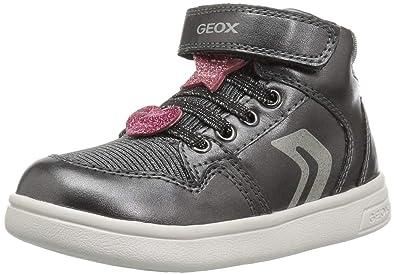 Outlet-Store Wählen Sie für späteste detaillierter Blick Geox Kids' Dj Rock Girl 12 Glitter High Top Sneaker