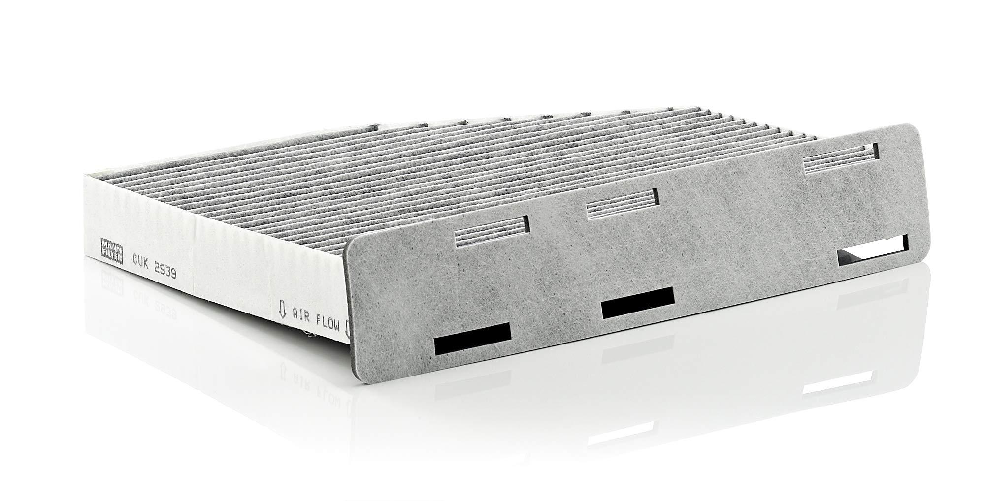 MANN-FILTER Original Filtro de Habitáculo CUK 2939 – Filtro antipolen con carbón activo –