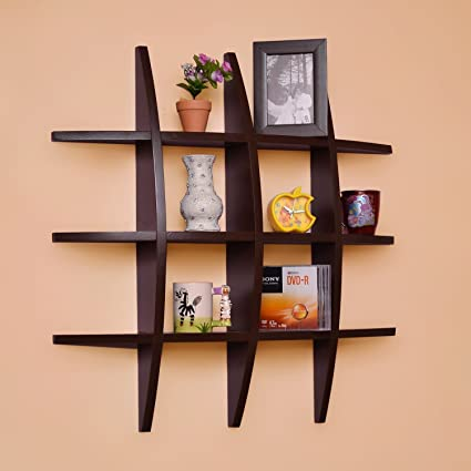 Beyond Collection Wooden Globe Shape Wall Rack Wall Mount Wall Shelf Tier Shape Wall Shelves For Wal Standard Brown Amazon In Home Kitchen