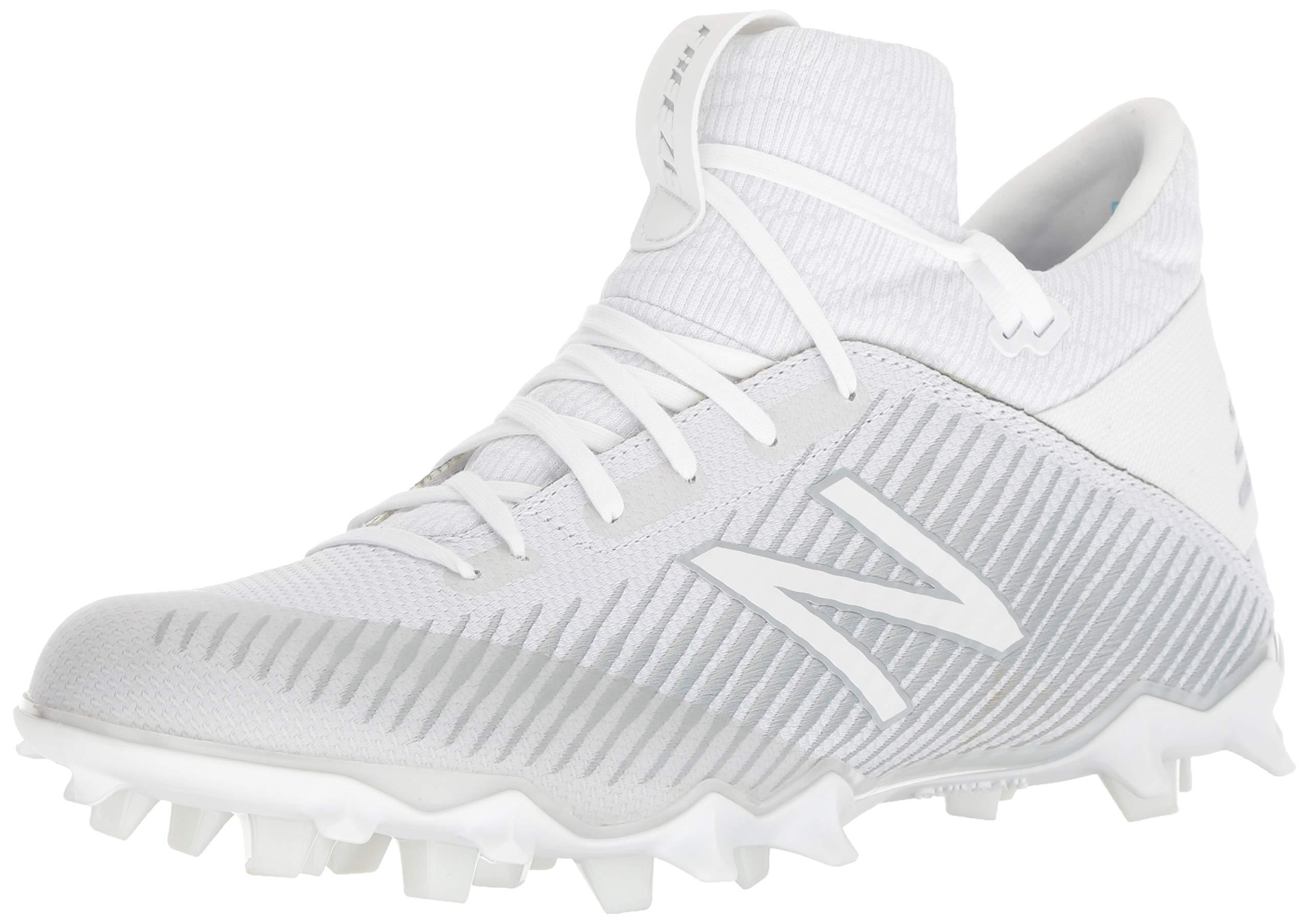 New Balance Men's Freeze V2 Agility Lacrosse Shoe, White, 6.5 D US