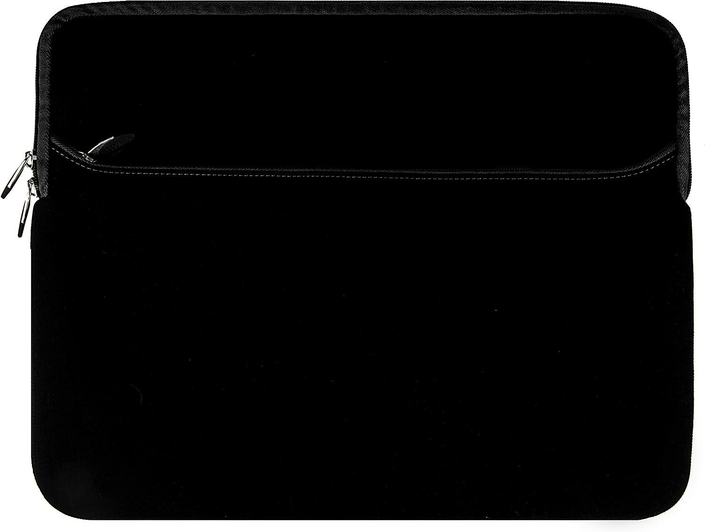 Laptop Sleeve Black 15.6 15 inch for Dell G3 3579 3590, Inspiron 15 7586 7580 3573 7572 7573 5575 7590 5582 3585, Latitude 15 5590 5591 3590 5500 5501 3500, Precision 15 3540, Vostro 15 3584 7590