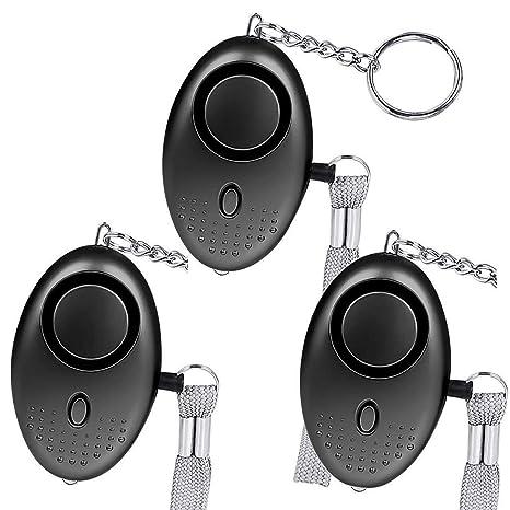 Alarmas personales,130db de autodefensa,llaveros,alarmas de ...