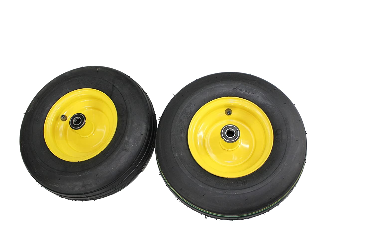 Antego 13x5.00-6 Tires & Wheels 4 Ply for Lawn & Garden Mower Turf Tires (Set of 2) A6325740060204135006-B2 ATW-002