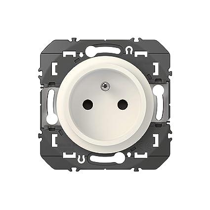 Legrand LEG300453 6X 2P+T BLC Compo dooxie Lot de 6 Prises de Courant Surface avec Terre Blanc composable