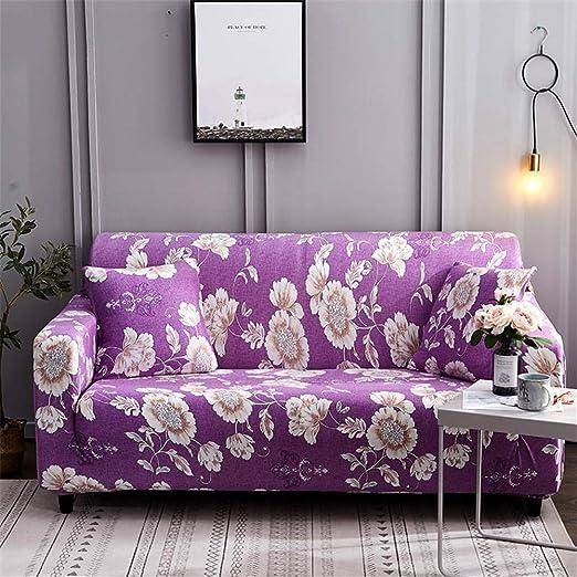 ALWAYZZ Cubierta de sofá Impresión Maceta Elástica Elástica ...