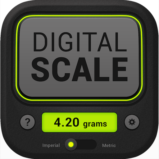 Digital Scale PRO (Best Scale App For Weed)
