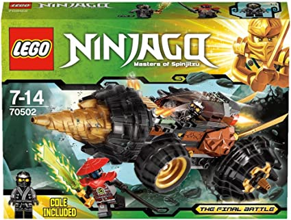 Lego Ninjago 70502 Cole/'s Earth Driller Final Battle Cole NEW