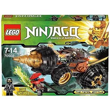Lego Ninjago - La Perforadora de Cole (70502): LEGO Ninjago ...