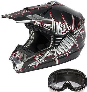 Casco de la motocicleta Nitro G-Mac Sting M / X Enduro casco de motocross