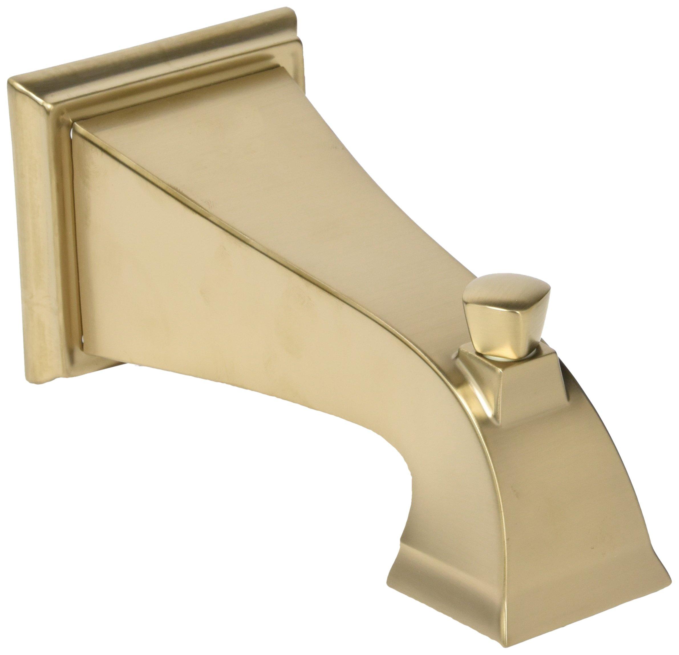 Delta Faucet RP52148CZ Dryden, Tub Spout - Pull-Up Diverter, Champagne Bronze by DELTA FAUCET