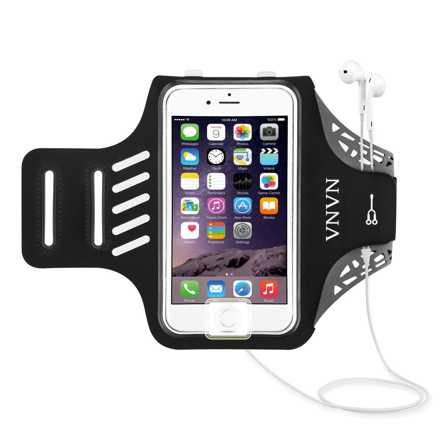 Armband Arm Band Case For Iphone X Hard Back Cover For Iphone 6 6s Plus 7 Plus 8 Plus 5 5s Running Sport Phone Holder Sufficient Supply Armbands Cellphones & Telecommunications