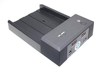 "SMAKN 3.5""/2.5"" SATA HDD To Dual USB 2.0 Port External Dock Station Enclosure"