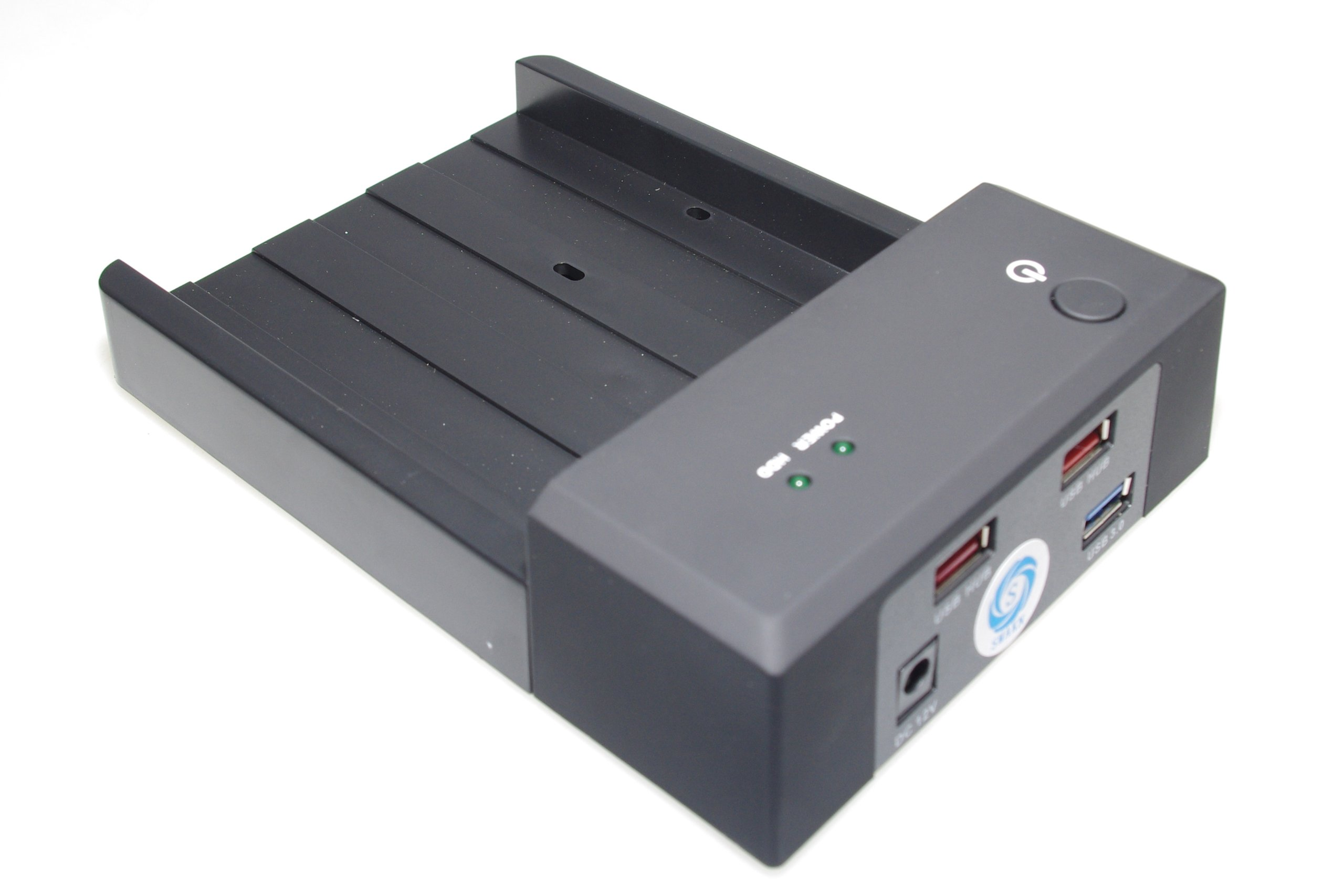 SMAKN® 3.5''/2.5'' SATA HDD To Dual USB 2.0 Port External Dock Station Enclosure