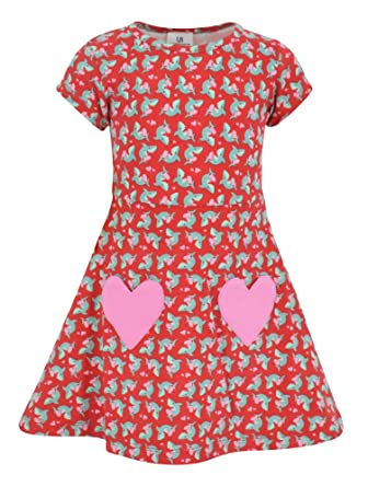 Amazon Com Unique Baby Girls Valentine S Day Shark Dress Clothing