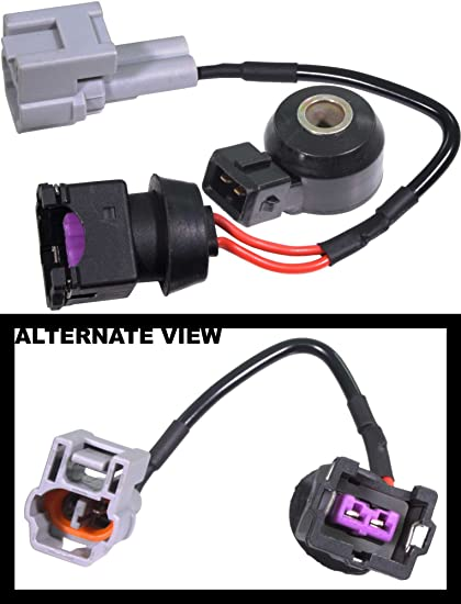 apdty 028142 knock sensor w/wiring harness pigtail connector fits 1999-2002  subaru forester