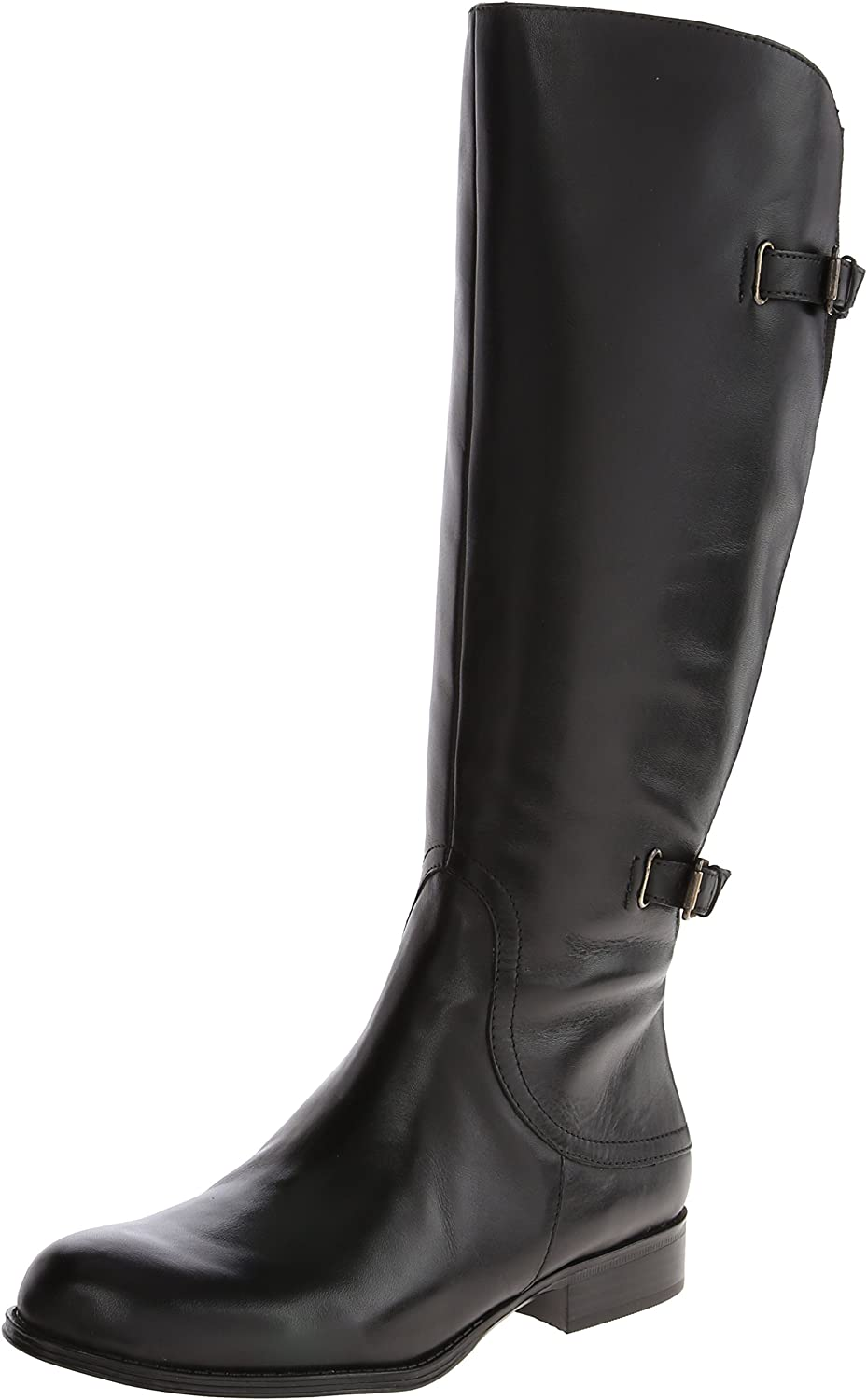 Naturalizer Womens Jamison Wide-Shaft Riding Boot