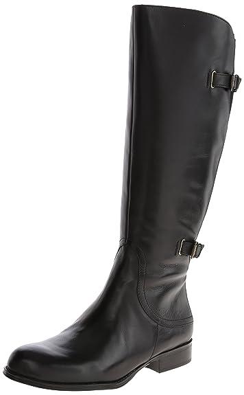 Naturalizer Women's Jamison Wideshaft Riding Boot,Black,4.5 ...