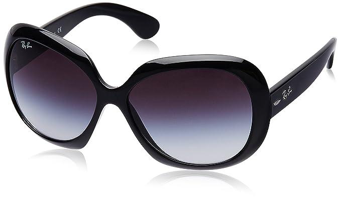 0902daf926 Ray-Ban RB4098 Jackie OHH II anteojos de sol no polarizados para mujer,  Negro