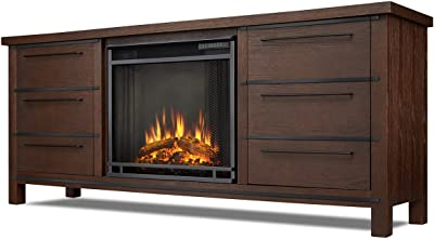 Amazon Com Real Flame Hawthorne Electric Fireplace Tv