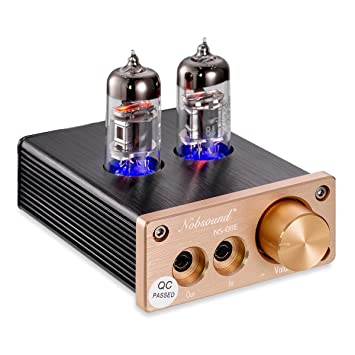 Nobsound HiFi Mini Valve Tube Headphone Amplifier Stereo amp Audio Kopfhörerverstärker: Amazon.es: Electrónica