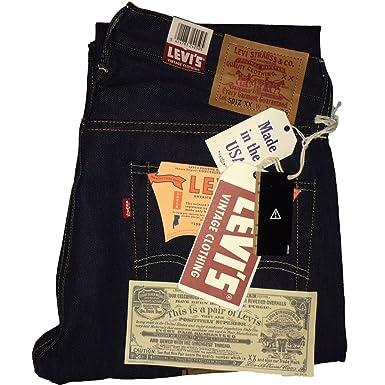 e6d92564f2d Image Unavailable. Image not available for. Colour  Levi s Vintage Clothing 1954  501z Dry Selvedge Jeans ...