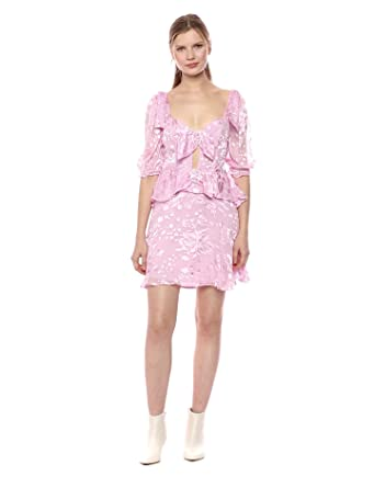 abbd9d4b345d Amazon.com: For Love & Lemons Women's Cosmo Mini Dress: Clothing