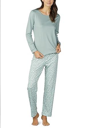 viele möglichkeiten 100% Qualität neuer & gebrauchter designer Mey Night Isabelle Damen Schlafanzüge Lang 14117: Amazon.de ...