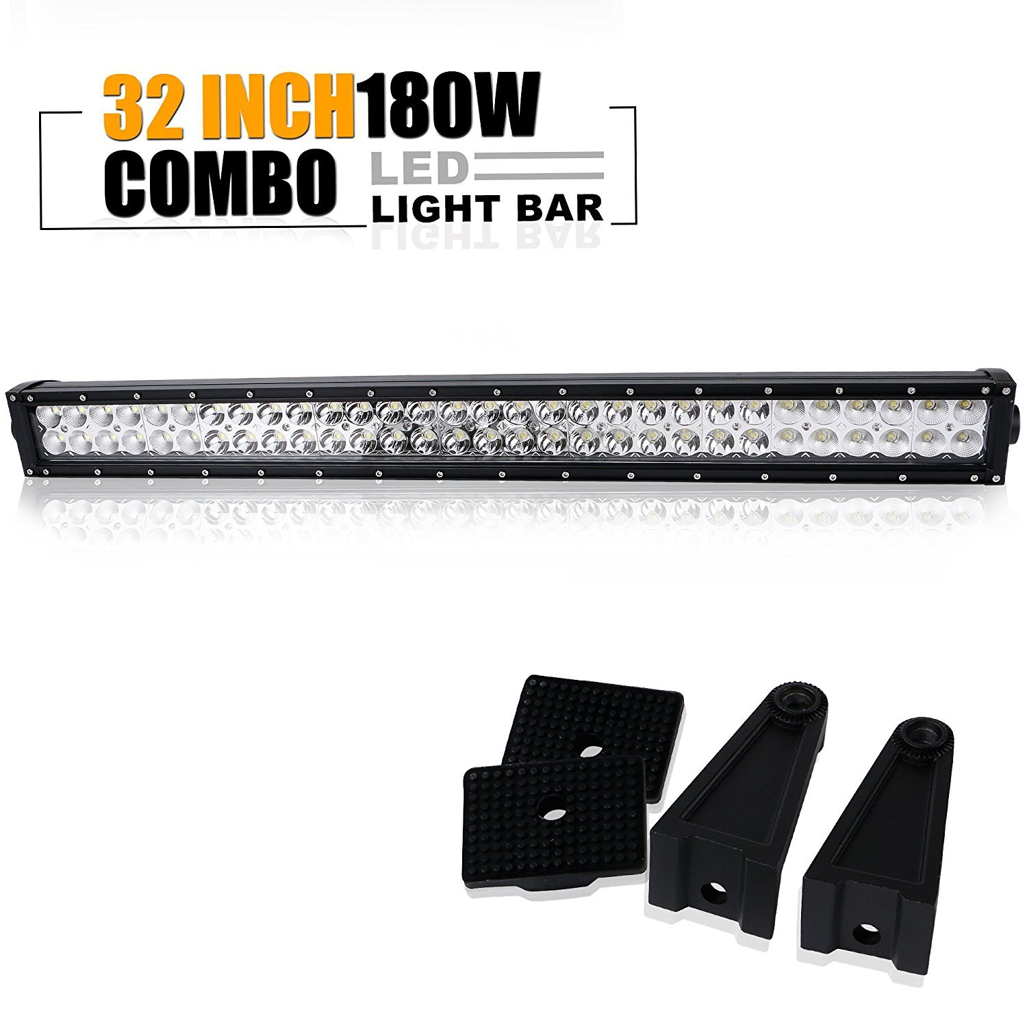 Led Light Bar Turbosii 52 Quot Inch 300w Flood Spot Combo Led