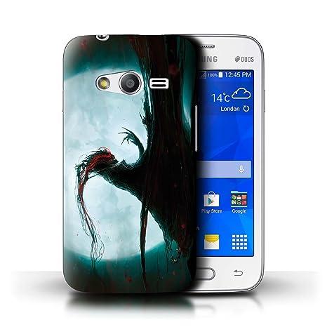 ccb3c761e32 Oficial Chris Cold Carcasa/Funda/Case dura para el Samsung Galaxy V/G313 /  serie: Bestia Demoníaca: Amazon.es: Electrónica