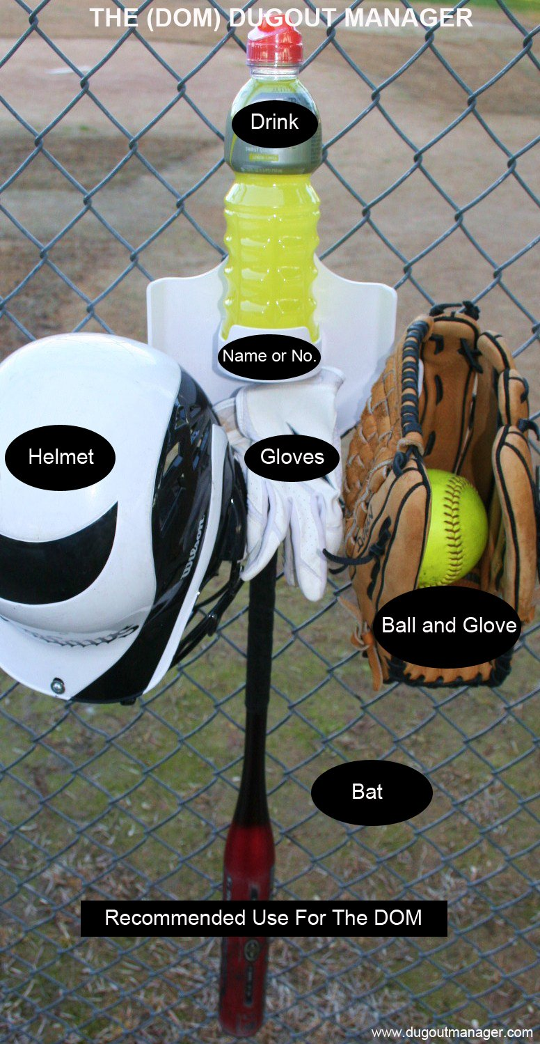 Amazon.com : Dugout Organizer the DOM - Purple : Softball Equipment : Sports & Outdoors