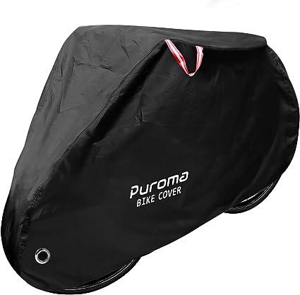 Red/&Black Waterproof Bicycle Bike Cover Outdoor Rain Dust Protector For 2 Bikes