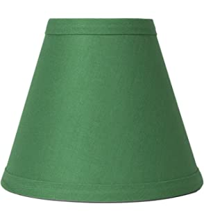 4 hunter green chandelier lamp shades mini shades 17b10 urbanest kelly green linen chandelier lamp shade 3 inch by 6 inch by aloadofball Image collections