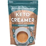 360 Nutrition KETO Creamer With MCT Oil | Unsweetened | Dairy Free Coffee Creamer Milk Substitute | Weight Loss, Energy…
