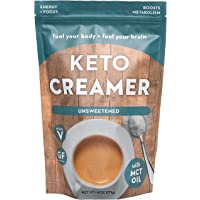 360 Nutrition KETO Creamer With MCT Oil | Unsweetened | Dairy Free Coffee Creamer Milk Substitute | Weight Loss, Energy, Fat Loss…