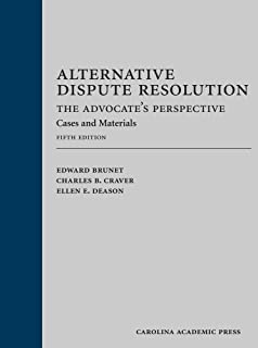 Principles of alternative dispute resolution concise hornbook alternative dispute resolution the advocates perspective cases and materials fandeluxe Images