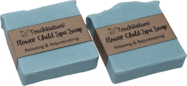 Touch Nature Flower Child Square Spa Soap - 2pc 100gm