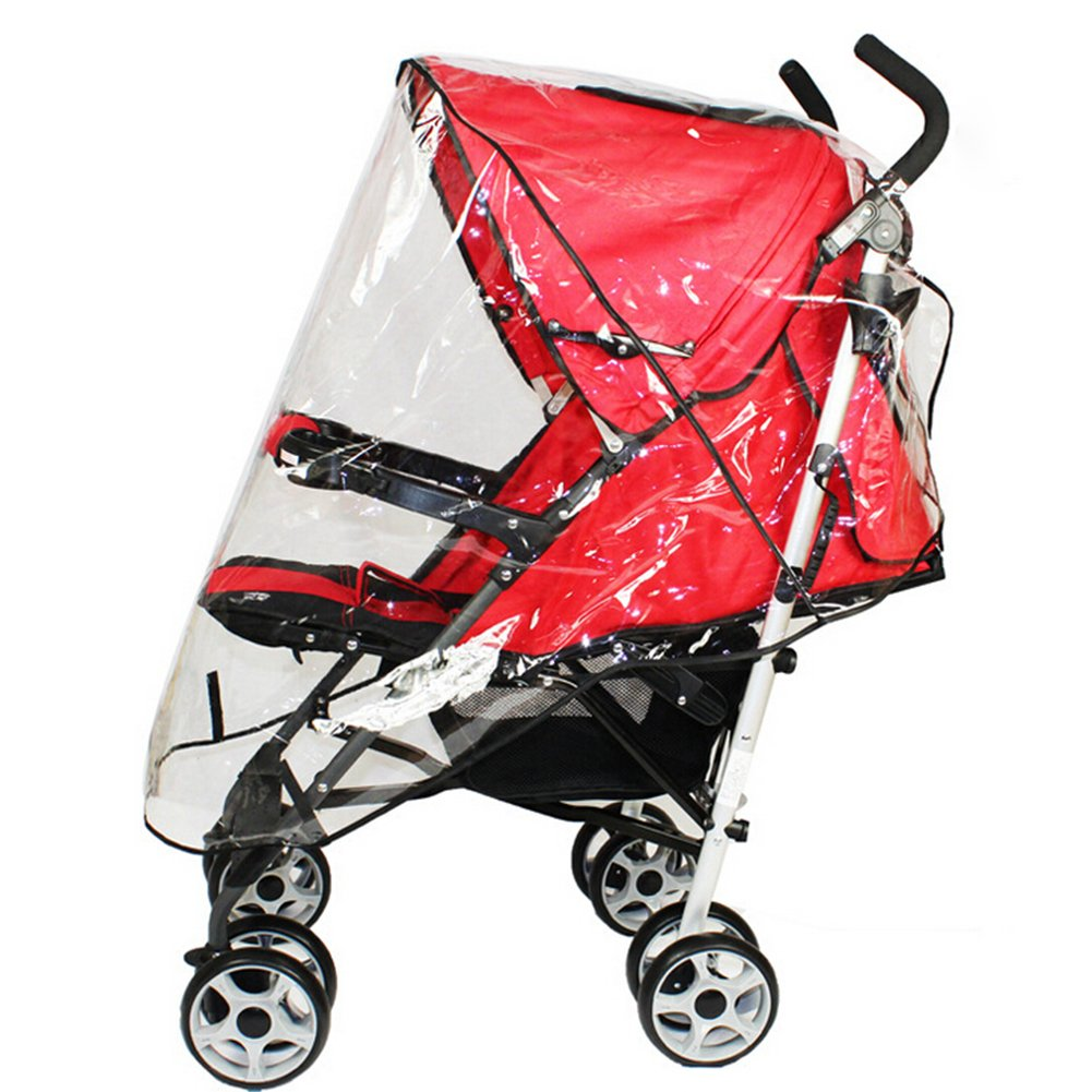 Norbi Universal Baby Weather Dust Shield Stroller Waterproof Rain Cover Canopy