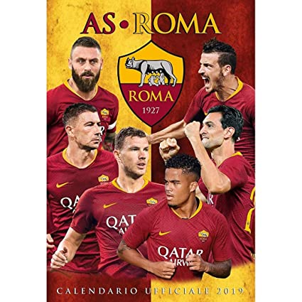 Asroma Calendario.Calendario As Roma 2019 Ufficiale 29 X 42 Cm