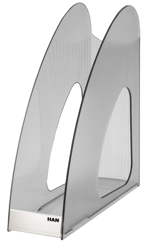 transluzent-grau DIN A4//C4 HAN 1611-69 Stehsammler Twin
