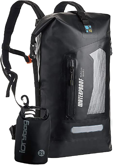 No Label 100/% Wasserdichter Rucksack T2 Dry Bag 20L 20 Liter ideal f/ür Triathlon Radsport Schwimmen Wassersport Strand Camping Outdoor-Sport