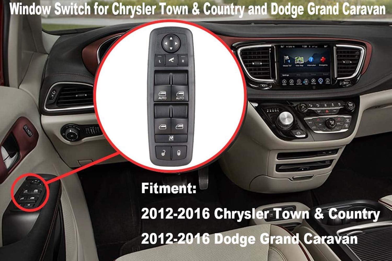 Leistungssteuerungsschalter Oe 68110872aa Für 2012 16 Town Country 2012 17 Grand Caravan Mit Power Folding Multifunktionsspiegeln Auto