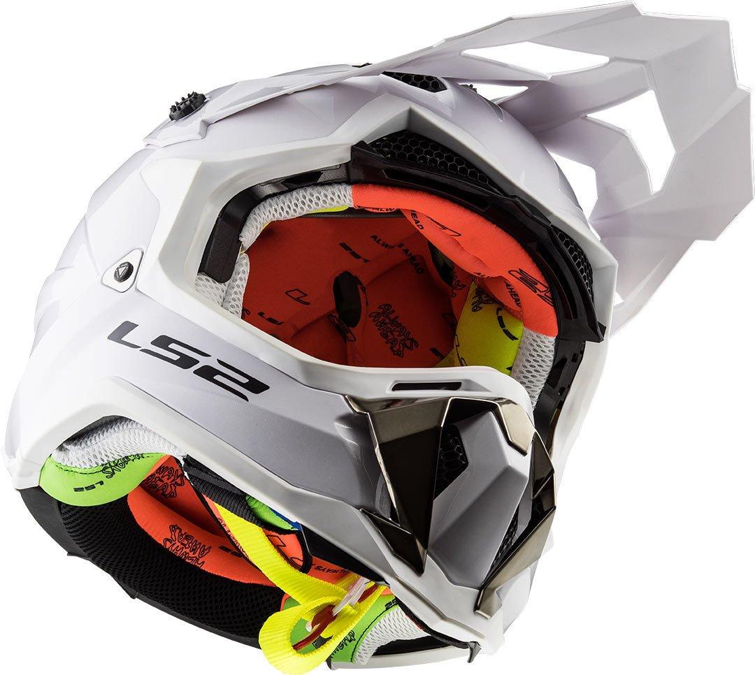 LS2 Caschi moto SUBVERTER Bianco